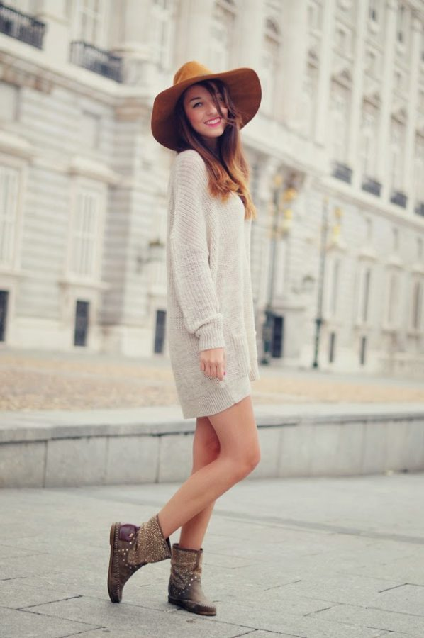 oversize dress sweater for fall bmodish