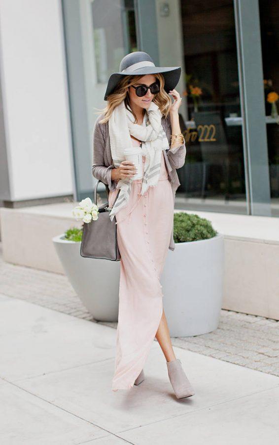 paige light pink denim cami dress bmodish