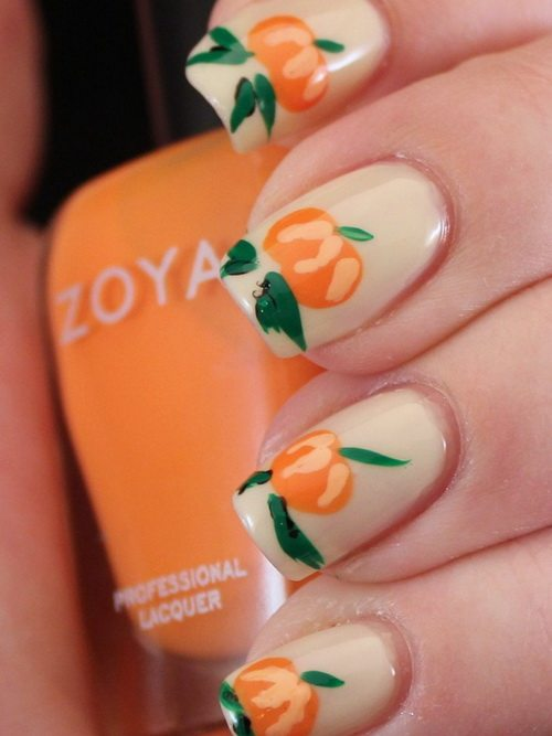 pumpkins nail art designs bmodish