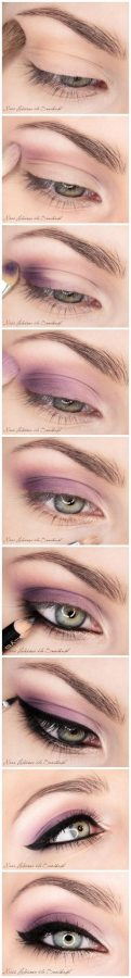 purple-smokey-eye-makeup-tutorial-best-bridal-makeup bmodish