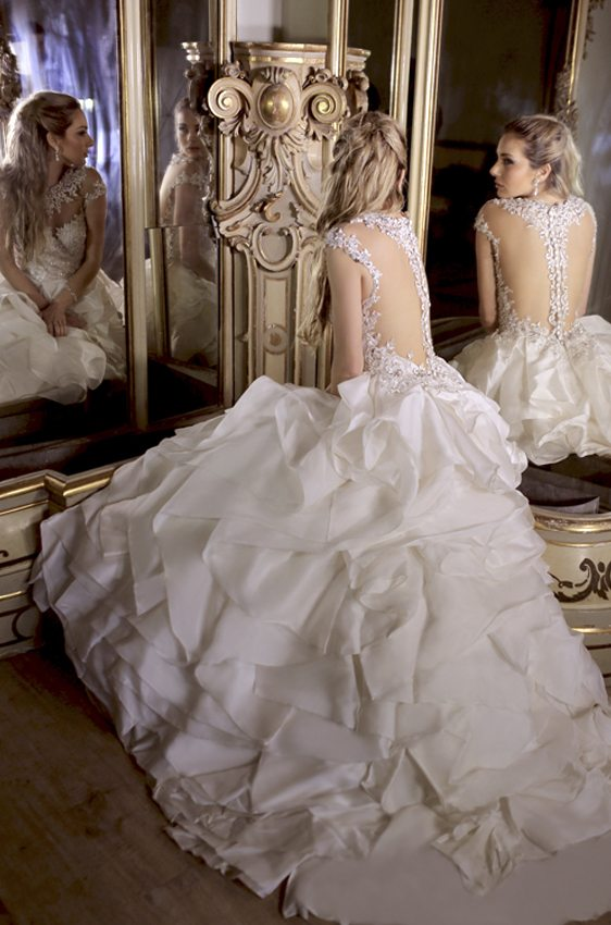 wedding dress ysa 42 bmodish