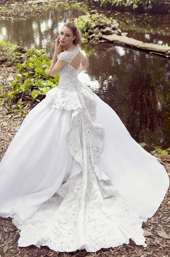 wedding dress ysa 45 bmodish
