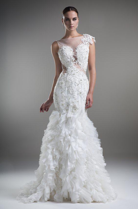 wedding dress ysa 48 bmodish