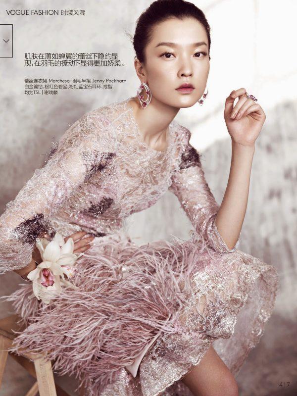 Du Juan for Vogue China 1 bmodish