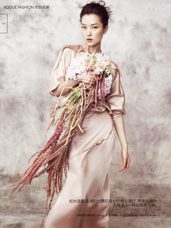 Du Juan for Vogue China 2 bmodish
