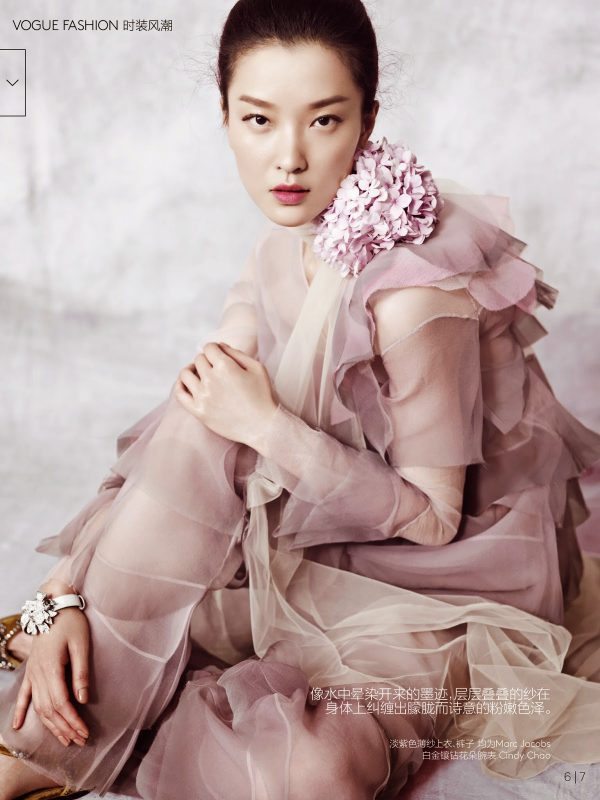 Du Juan for Vogue China 3 bmodish