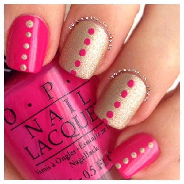Pink_and_Gold_Polka_Dots_OPI bmodish