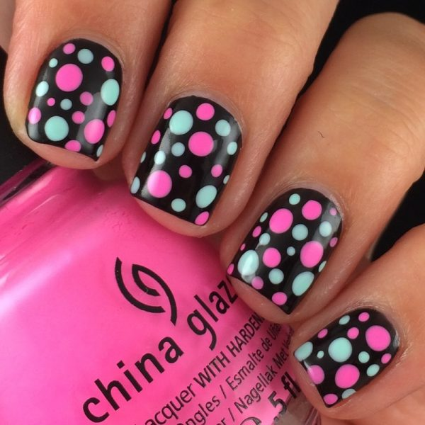 bright dotticure nails bmodish