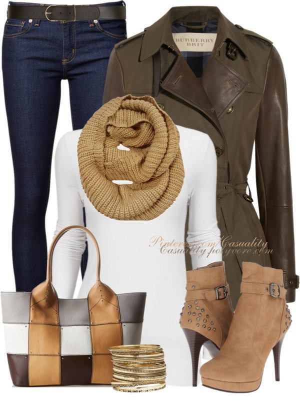 burberry trench coat fall outfit bmodish 2014