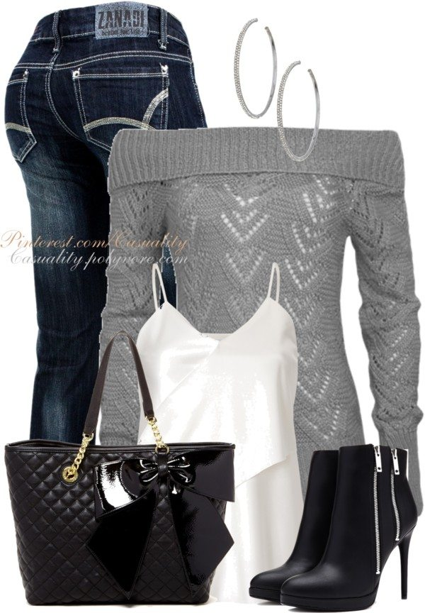 casual attitude fall outfit bmodish 2014