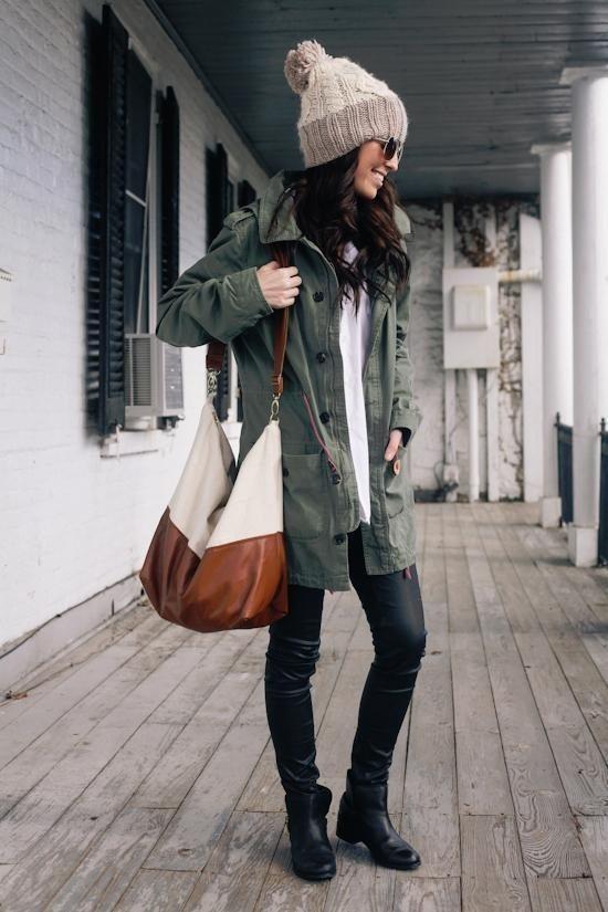 cozy military jacket fall fashion bmodish