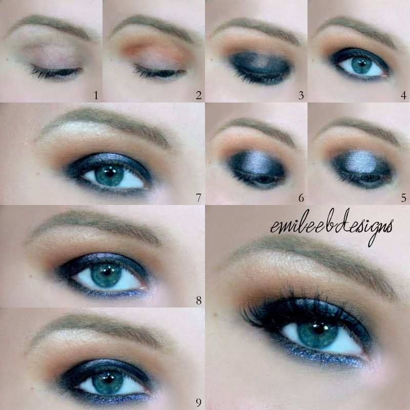 dark  smokey eyes tutorial for hazel eyes bmodish