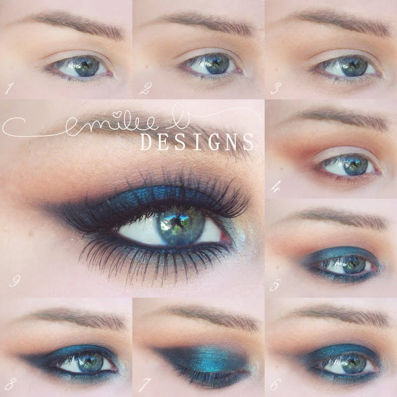 Simple But Dramatic Smokey Eye Makeup Tutorial Be Modish