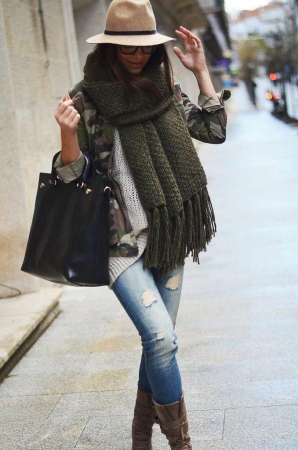 fall fashion military jacket bmodish