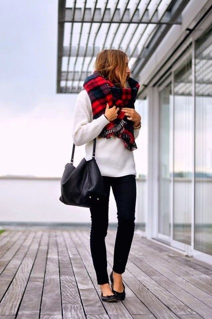 fashion-cognoscente-fashion-cognoscenti-inspiration-fall-fads tartan plaid bmodish