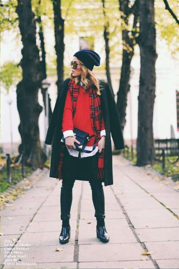 in the mood of tartan fall winter fashion bmodish
