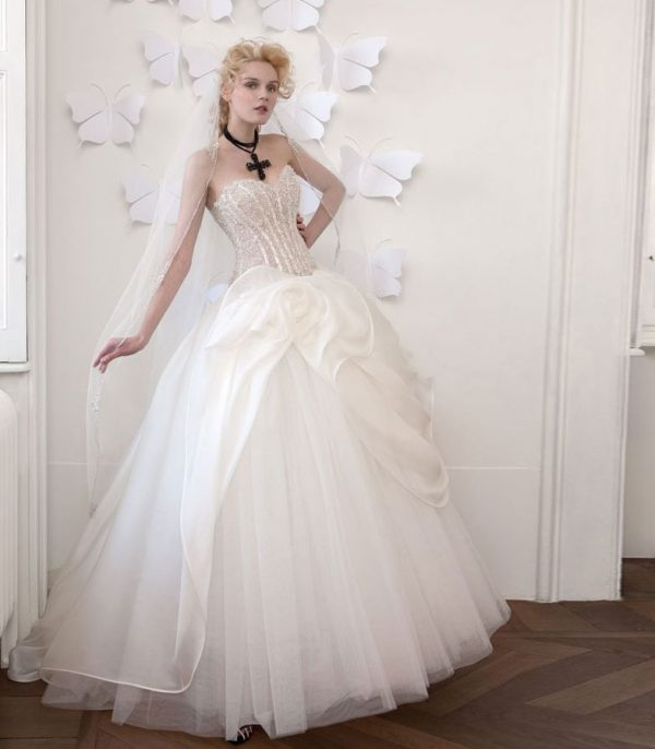 romantic atelier aime wedding dresses 22 bmodish