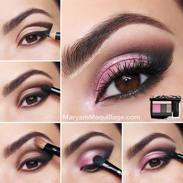 rose_coquette_smokey eye makeup tutorial_bmodish