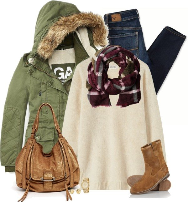 Parka for winter outfit bmodish
