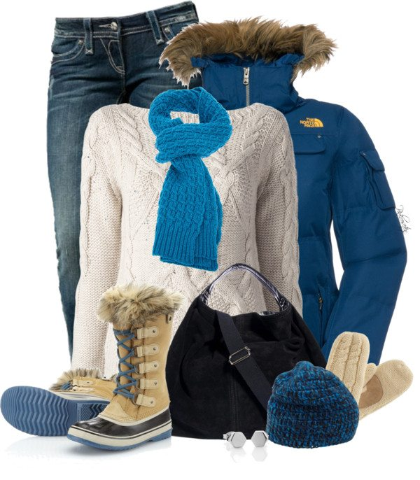 north face winter outfit bmodish