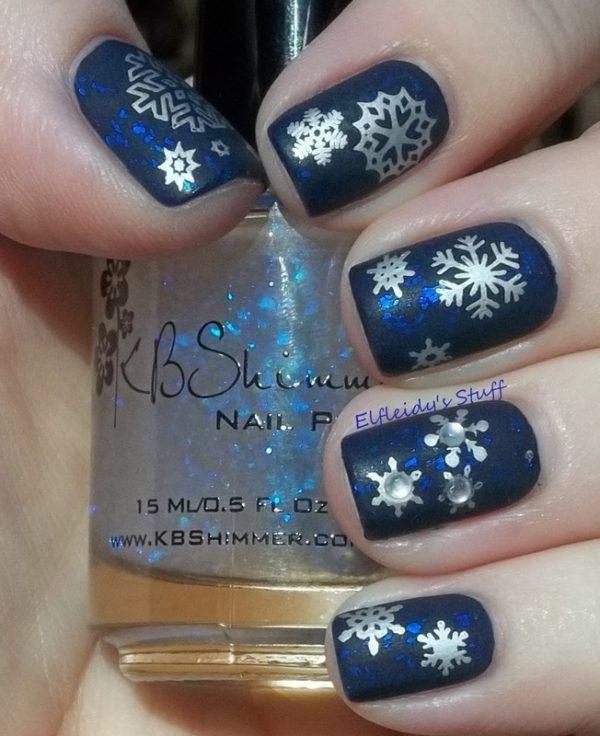 snowflake mani bmodish