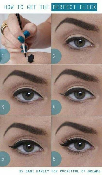 the perfect flick cat eye tutorial bmodish