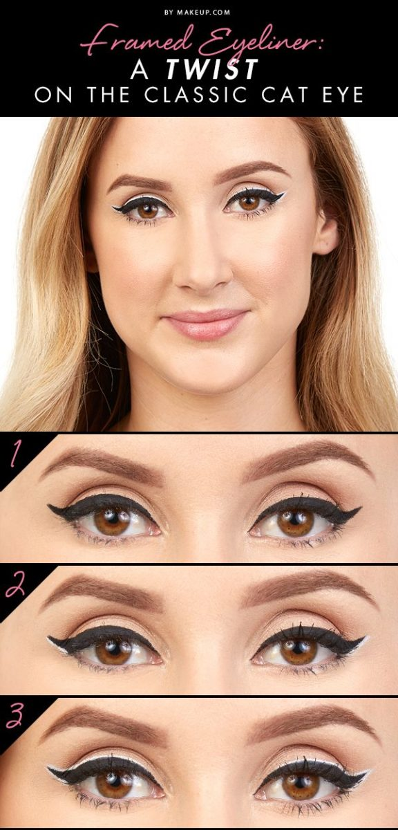 twist on classic cat eye tutorial bmodish