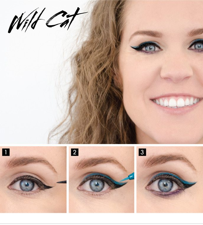 wild cat sephora eye makeup tutorial bmodish