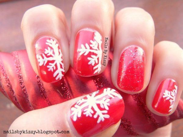 xmas_snowflakes nails1 bmodish
