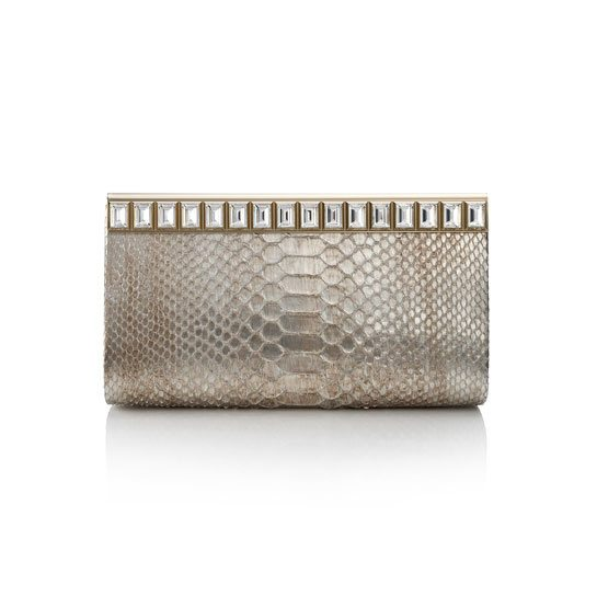 Cayla clutch bag from the Jimmy Choo 2015 collection via bmodish