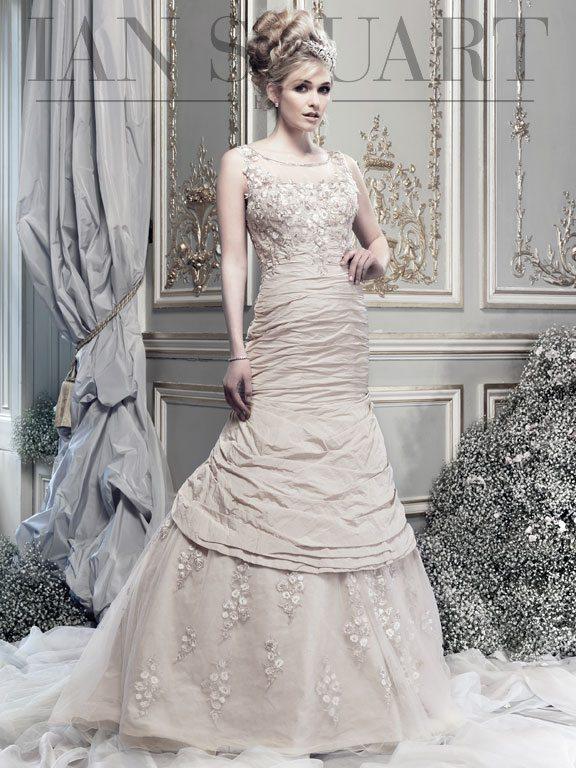 Lady Luke Collections Electra honey wedding dress via bmodish