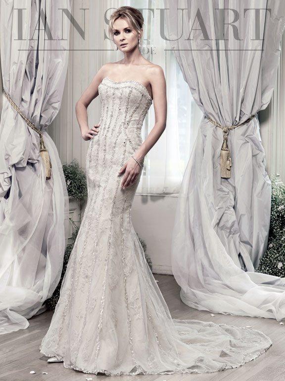 Evangelista-honey wedding dress via bmodish