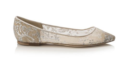 Goa ballertina flats from the Jimmy Choo 2015 collection via bmodish