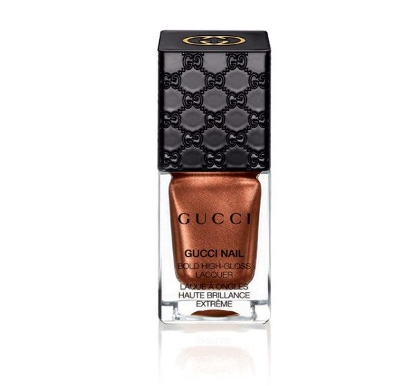 Gucci Nail Bold High-Gloss Lacquer – 180 Iconic Bronze - bmodish