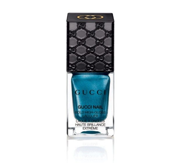 Gucci Nail Bold High-Gloss Lacquer – 210 Prussian Blue - bmodish