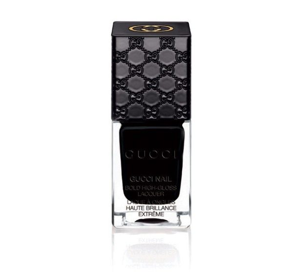 Gucci Nail Bold High-Gloss Lacquer – 240 Iconic Black - bmodish
