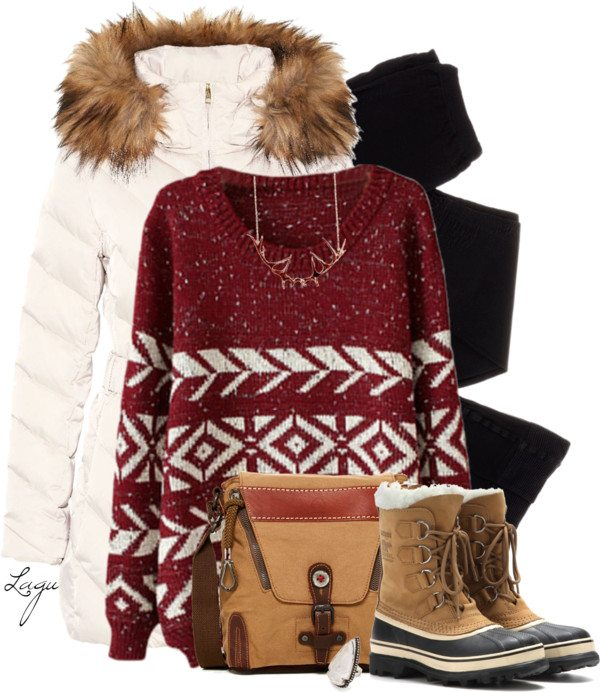 winter going out outfits