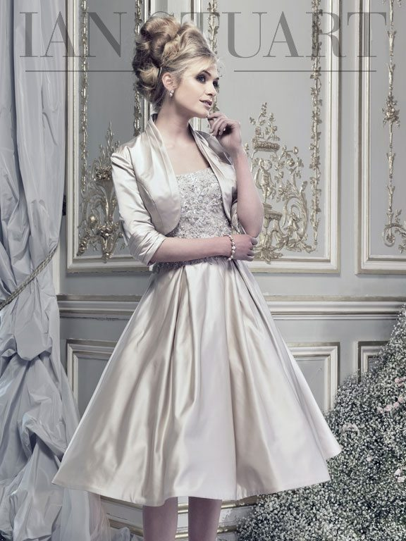 Lady Luke Collections I Love Lucy taupe 2 wedding dress via bmodish