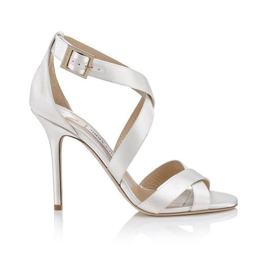 Lottie sandal from the Jimmy Choo wedding 2015 collection via bmodish