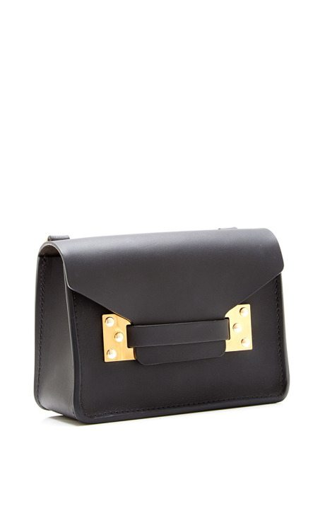 Medium Black Lansdowne Envelope sophie hulme via bmodish
