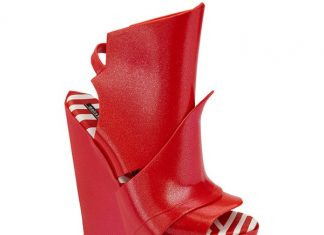 gareth pugh for melissa collection