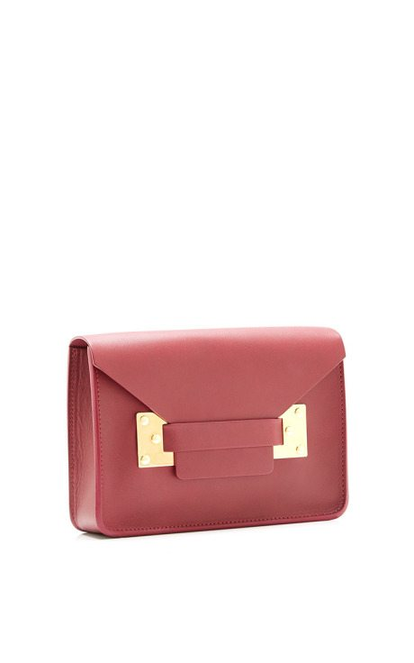 Mini Grape Envelope Bag sophie hulme via bmodish