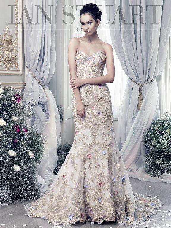Lady Luke Collections Papillon lilac 2 wedding dress via bmodish