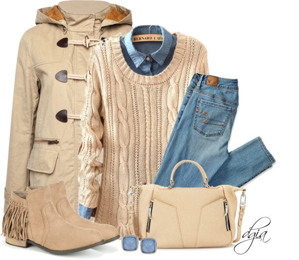 layered outfit ideas for winter