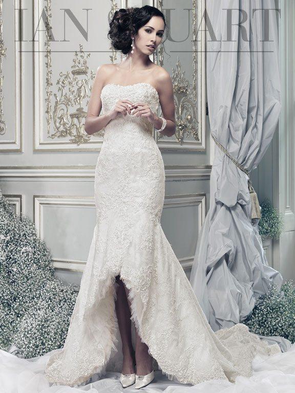 Lady Luke Collections Rodeo Drive wedding dress via bmodish