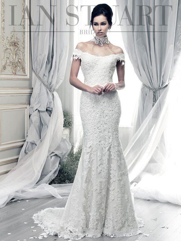 Lady Luke Collections Salamanca ivory wedding dress via bmodish