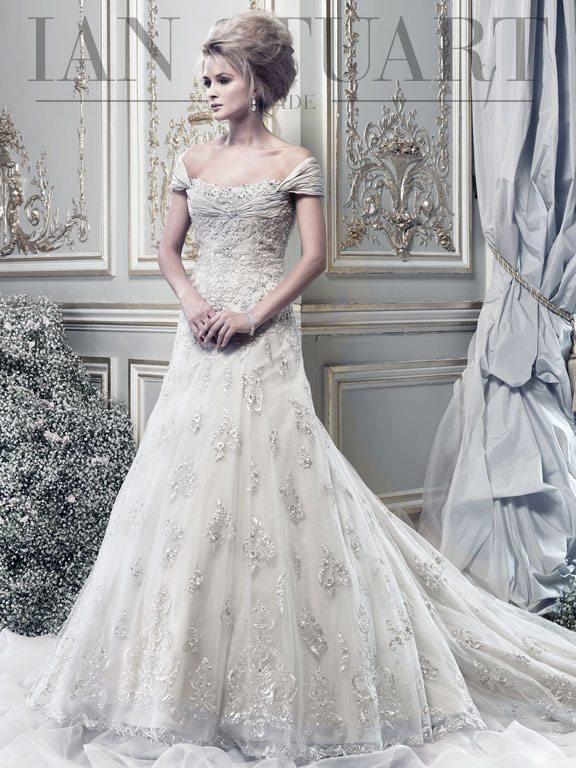 Sonata-honey wedding dress via bmodish