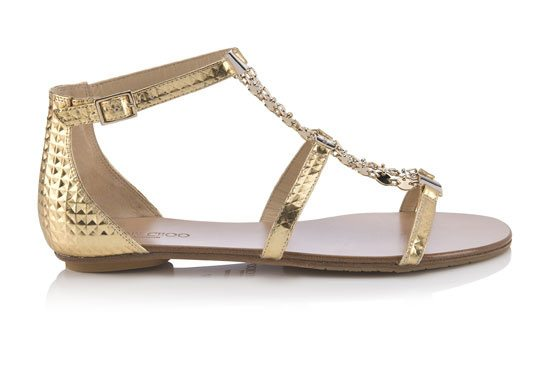 Wyatt sandal from the Jimmy Choo 2015 collection via bmodish