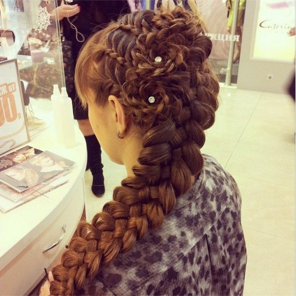 amazing combo braid hairstyle bmodish