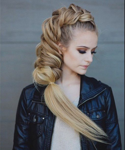 amazing combo braid hairstyles 2 bmodish